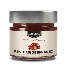 Natural pesto mediterraneo - 160 grame