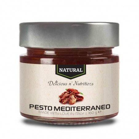 Delicious Natural pesto mediterraneo - 160 grame