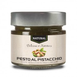 Natural pesto al pistacchio - 160 grame