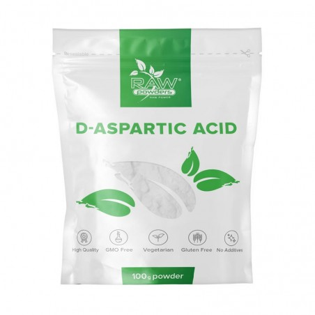 Raw Powders D-Acid Aspartic pulbere 100 grame