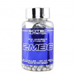 Scitec ZMB6, Zinc+Magneziu+Vit B6 60 Capsule