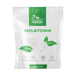 Raw Powders Melatonina 1mg 200 Tablete