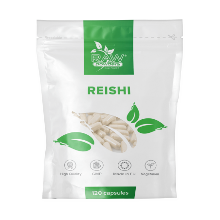 Raw Powders Reishi 700mg 120 Capsule