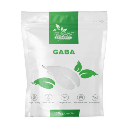 Raw Powders GABA pudra 125 grame, prospect, doze, efecte, pret, indicatii, pareri