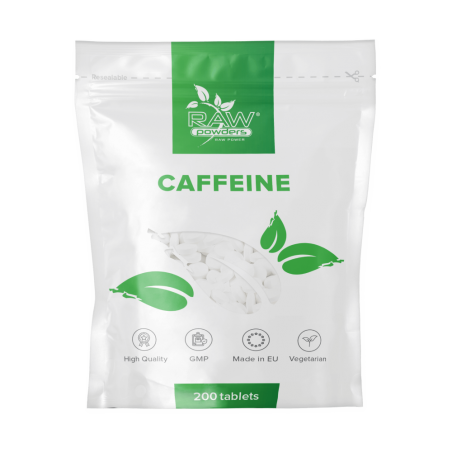 Raw Powders Caffeine 200mg 200 Tablete