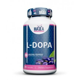 Haya Labs L-DOPA Mucuna Pruriens Extract 90 Capsule