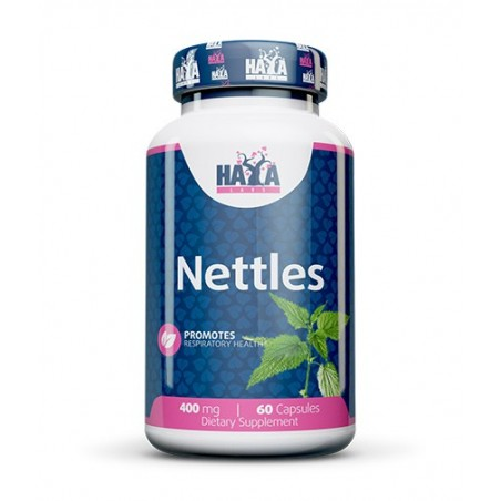 Haya Labs Nettles (urzica) 400mg 60 Capsule