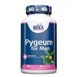 Haya Labs Pygeum extract pentru barbati 100mg 60 Capsule, prostata, tratament edem prostata