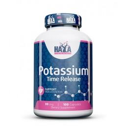 Haya Labs Potassium (eliberare prelungita) 99mg 100 Capsule