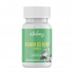 Vitamina D3 - 10.000 UI - 240 Tablete, 5.000% Doza pastila Vitamina D3