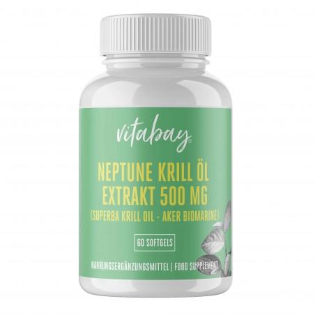 Vitabay Neptun Krill Oil 500 mg - 60 gelule