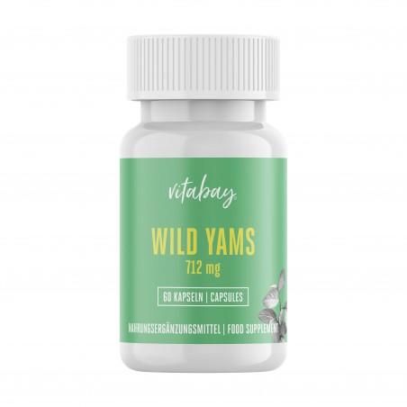 Vitabay Yam Wild Extract 712 mg 60 capsule