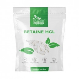 Betaina HCL 650 mg 120 capsule