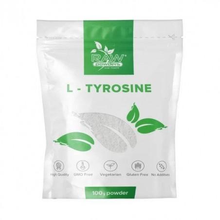 Raw Powders L-Tirozina (L-Tyrosine) pulbere 100 grame