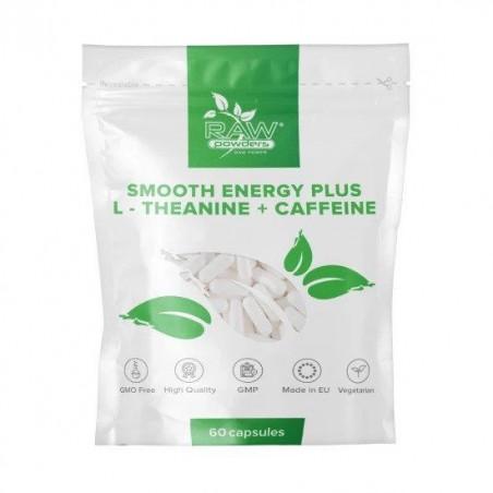 Raw Powders Energie lina Plus (L-Teanina Cafeina) 60 Capsule