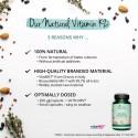 Vitamina K2 naturala, MK7, 180 Capsule