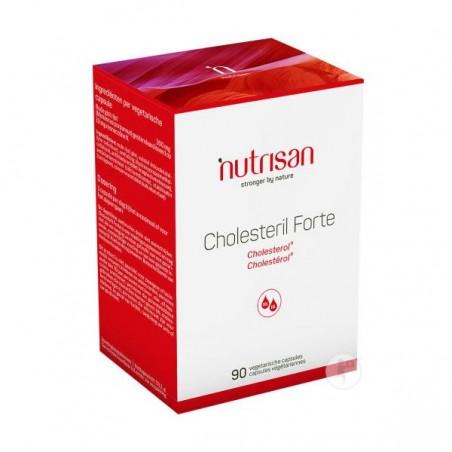 Nutrisan Cholesteril Forte, Drojdie orez rosu, Monokolin 10 mg, 90 Capsule
