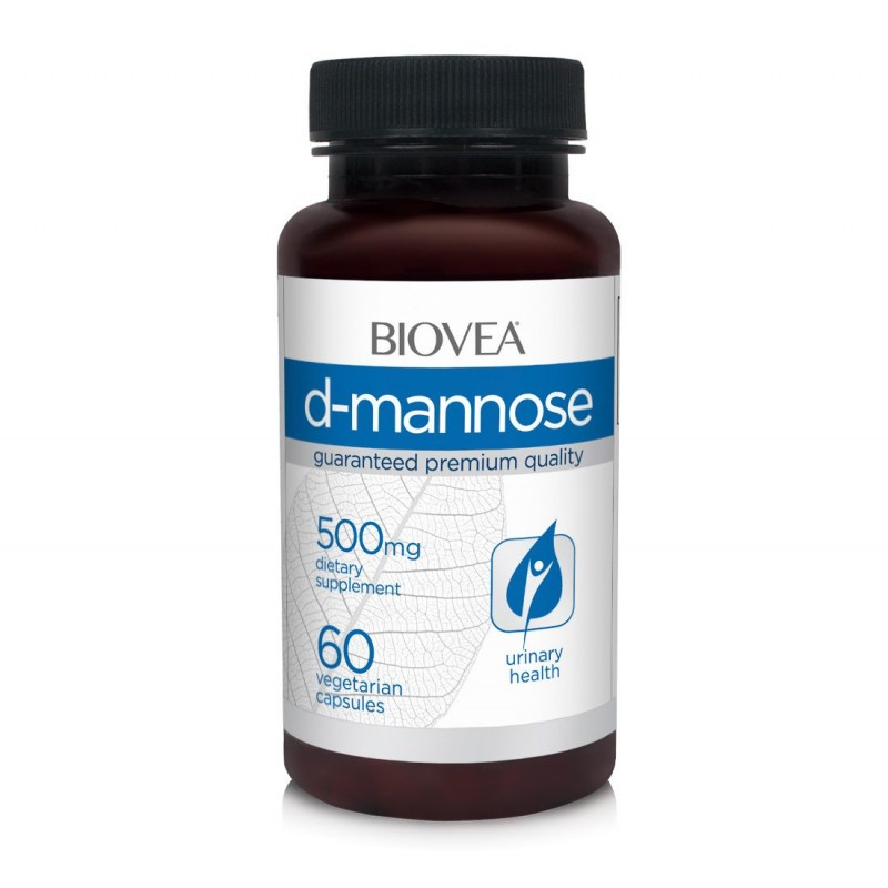 D-MANNOSE (D-Manoza) 500mg 60 Capsule