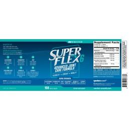 SUPERFLEX-6 Complex de ingrijire a articulatiilor cu glucozamina avansata 150 de tablete