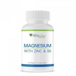 Magneziu, Zinc, Vitamina B6, 90 Tablete