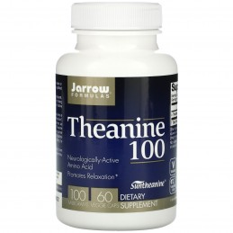 Jarrow Theanine, 100mg - 60 Capsule