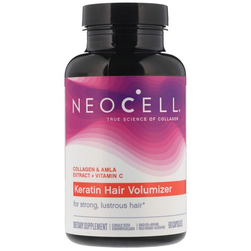 NeoCell Keratin Hair Volumizer - 60 Capsule