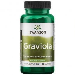 Swanson Graviola, 530mg - 60 Capsule