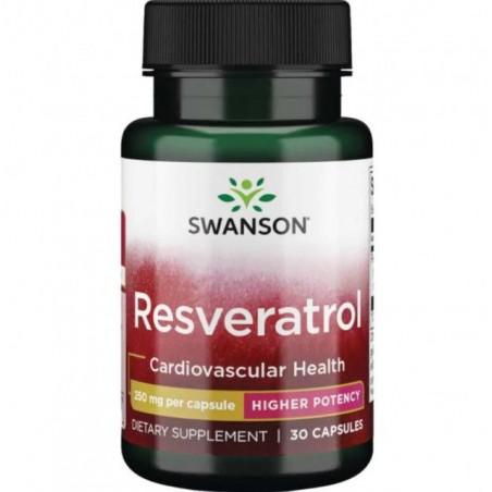 Swanson Resveratrol, 250mg - 30 Capsule
