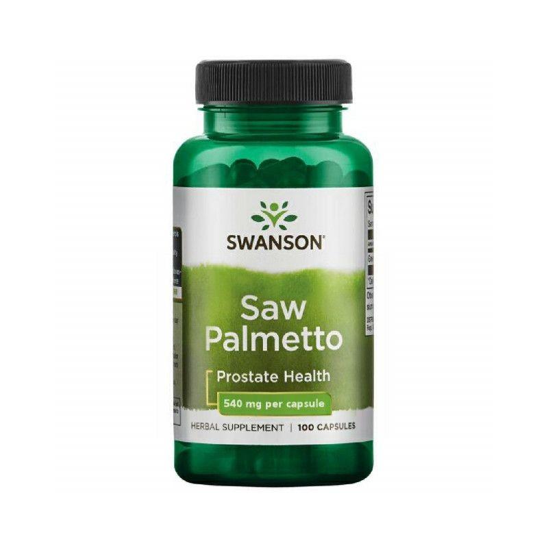 Swanson Saw Palmetto, 540mg - 100 Capsule