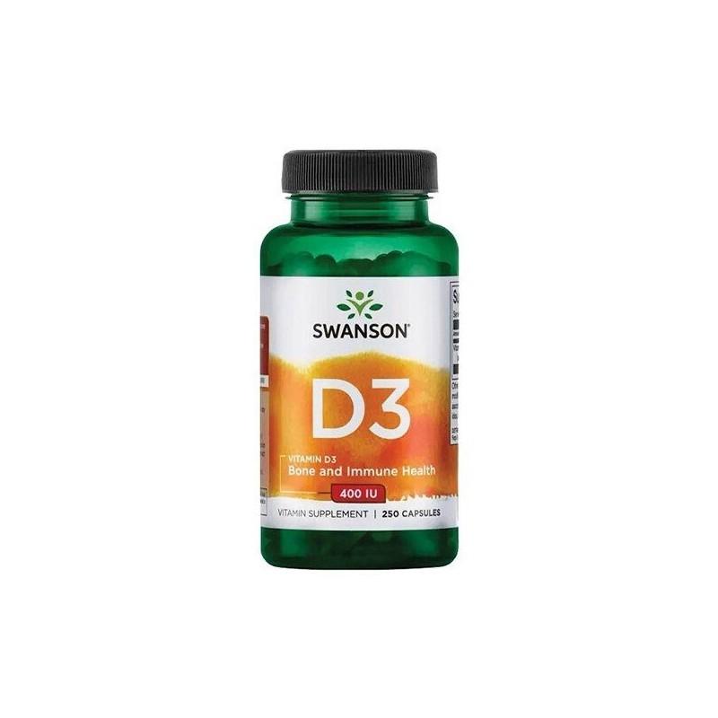 Swanson Vitamin D-3, 2000 IU - 250 Capsule