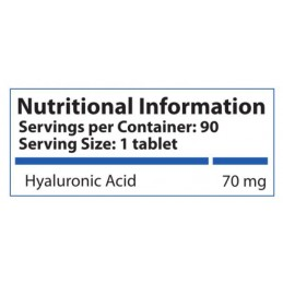 HS Labs - Hyaluronic Acid 70 mg - 90 Comprimate