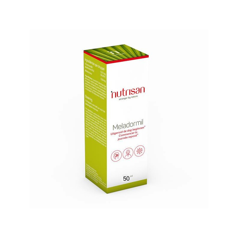 Nutrisan, Meladormil (Melatonina lichida picaturi) 50 ml