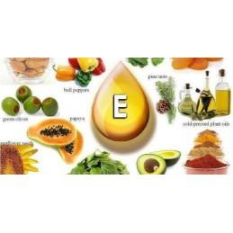 Oemine Vitamina E naturala - 60 capsule