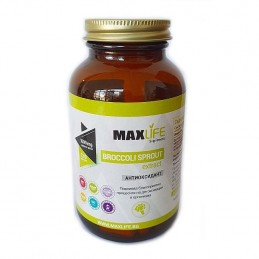 MAXLife BROCCOLI SPROUT EXTRACT 1000mg 120 Capsule