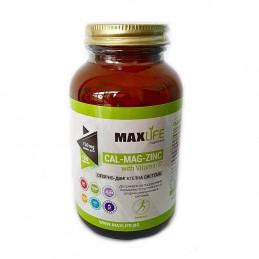 MAXLife CALCIU-Mg-ZINC cu Vitamina D 1525mg 180 tablete