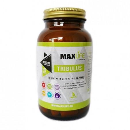 MAXLife TRIBULUS 1000 mg, (2000 mg per doza) 100 tablete