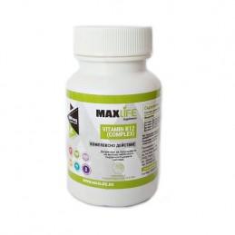 MAXLife VITAMINA B12 COMPLEX, 60 tablete sublinguale