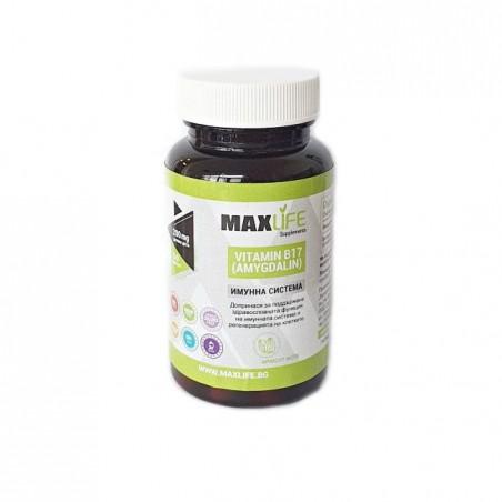 MAXLife VITAMINA B17 (AMIGDALIN) 200mg per doza , 60 capsule