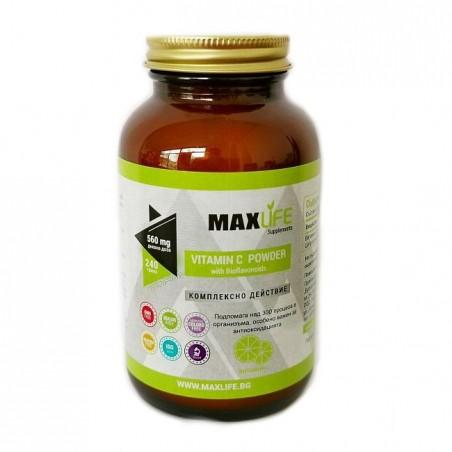 MAXLife VITAMINA C PUDRA cu Bioflavonoide 240 grame
