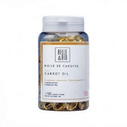 Belle&Bio Huile de Carotte, ulei de morcov, (autobronzant natural) 120 capsule