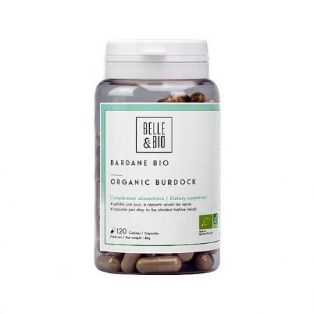 Belle&Bio Bardane Bio, brusture organic, (detox natural pentru ten) 120 capsule