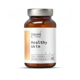 OstroVit Pharma Healthy Skin 90 Capsule Beneficii:Mentine fermitatea, inhiba formarea ridurilor si a celulitei, sustine mentine
