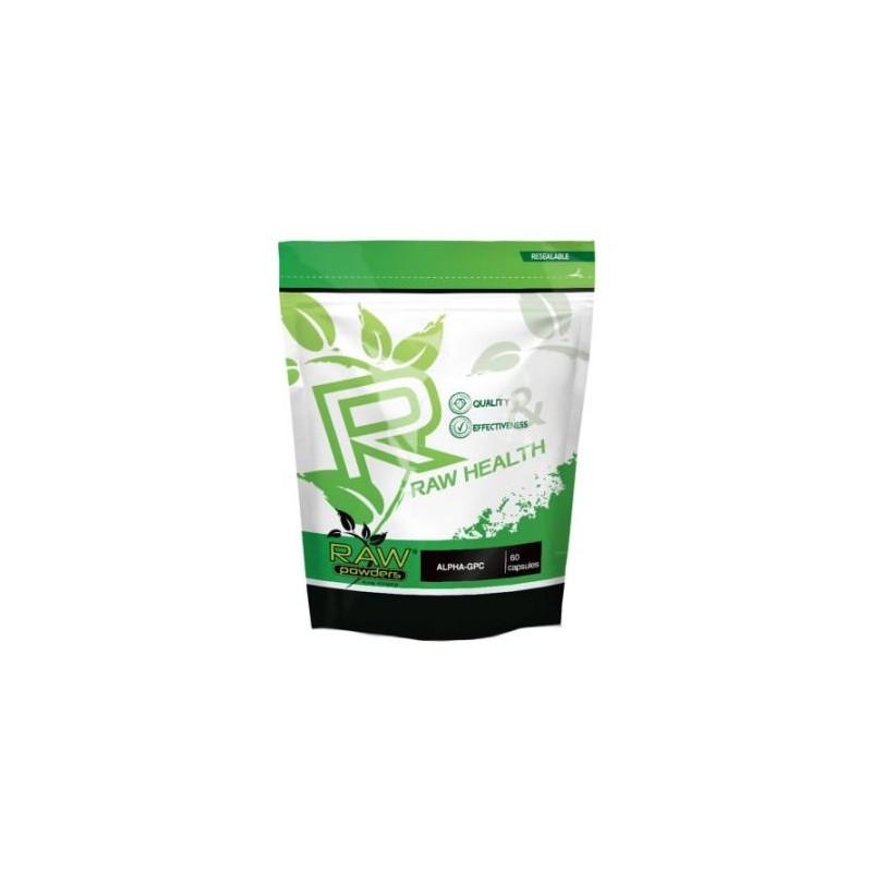 Raw Powders Alfa-GPC 250 mg 60 Capsule Beneficii Alfa-GPC: Efect Nootropic, ajuta in recuperarea dupa accident vascular, imbunăt