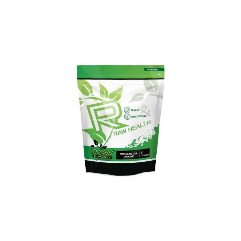 Raw Powders Citicolina CDP-Colina 250mg 60 Capsule Beneficii Citicolina CDP-Colina: 250 mg Citicolină pe porție, Supliment de în