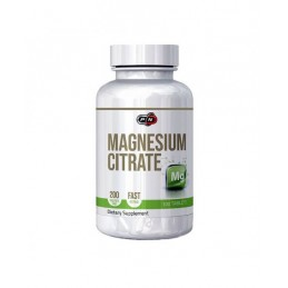 Pure Nutrition USA Magneziu Citrat 200 tablete 200mg Beneficii magneziu citrat: regleaza tensiunea arteriala, combate migrenele,