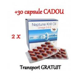 Neptune Krill Oil 360 + 30 capsule, Omega 3-6-9, Tratament colesterol, trigliceride, articulatii supliment Neptune Krill Oil:Tr