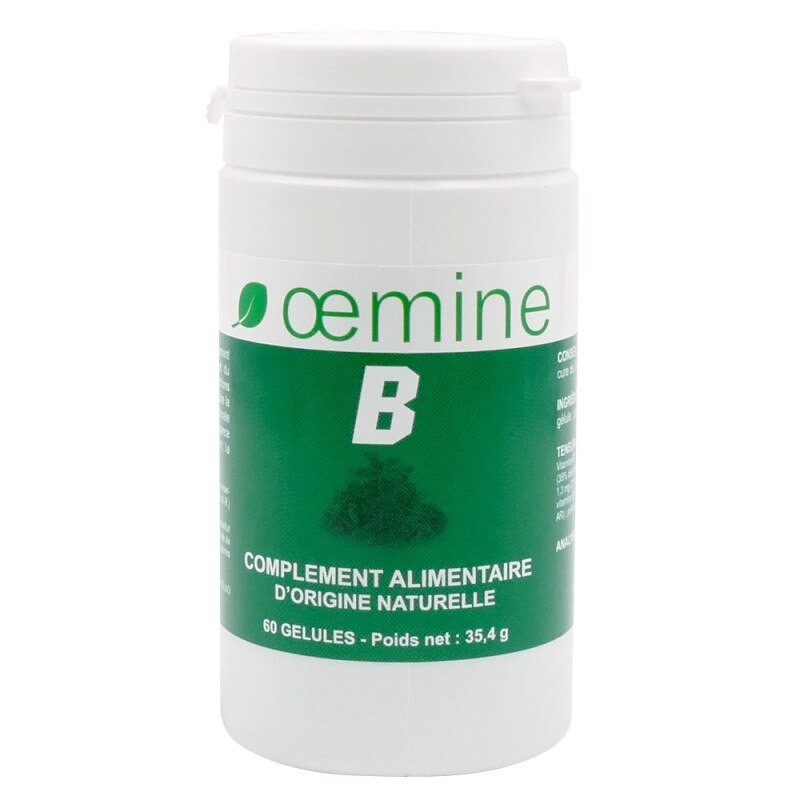 Oemine B Complex 60 capsule Beneficiile Vitaminelor B: Vitaminele B contribuie la sinteza normala de cisteina, creste energia co