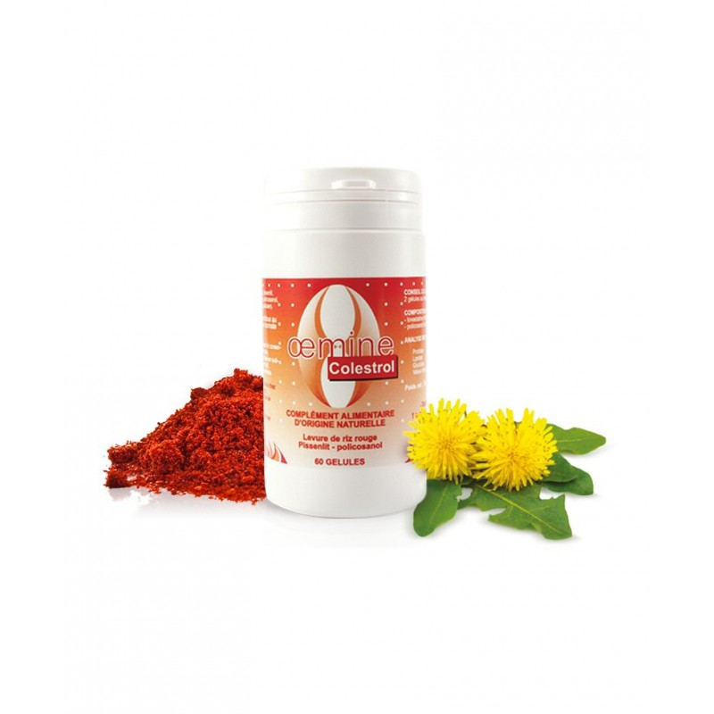 Oemine Drojdie orez Policosanol - Colestrol 60 capsule Beneficii Drojdie orez rosu, Red Yeast Rice: tratament naturist eficient,