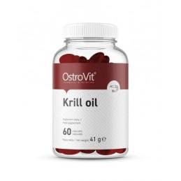 OstroVit Krill Oil 60 Capsule Beneficii OstroVit Ulei de Krill Oil: EPA și DHA au activitate cardioprotectoare, ajuta la reducer