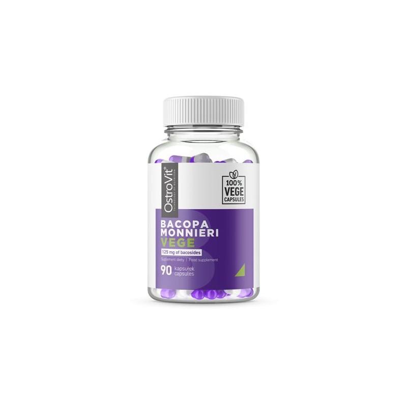 OstroVit Bacopa Monnieri VEGE 90 vcapsule Beneficii Bacopa Monnieri: conține antioxidanți puternici, poate reduce inflamația, st